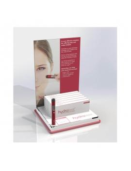 Espositore Penna Hydratest + Cartello Vetrina